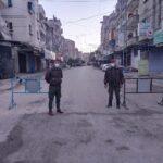 اللجنة الوبائية الفلسطينية توصي بالإغلاق الشامل