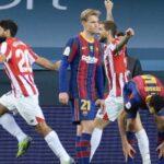 بيلباو ينتزع كأس السوبر الإسبانية من برشلونة