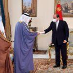 السيسي يتلقى رسالة من أمير الكويت بشأن المصالحة العربية
