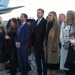 عائلة ترامب تبكي مع تولي بايدن رئاسة أمريكا