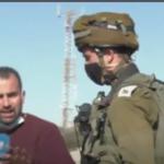 جيش الاحتلال يعتدي على طاقم «الغد» بالخليل