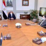 السيسي يوجه صندوق تحيا مصر بتوفير لقاح كورونا للفئات المستحقة