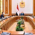 السيسي يستعرض مع الحكومة المشروع القومي لتنمية الأسرة المصرية