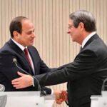 الرئيس المصري ونظيره القبرصي يبحثان عددا من القضايا الإقليمية
