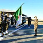 قائد أركان الجيش الجزائري يشهد المناورة العسكرية «الحزم 2021»