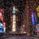صور  نيويورك تبتهج بالعام الجديد