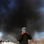 الاحتلال يصيب عشرات الفلسطينيين خلال مسيرة ضد الاستيطان