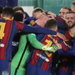 برشلونة يفوز على سوسيداد بركلات الترجيح ويبلغ نهائي كأس السوبر