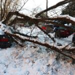 إسبانيا: خسائر العاصفة الثلجية في مدريد لا تقل عن 1.7 مليار دولار