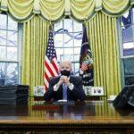 ما الذي تفاجأ به بايدن عندما دخل البيت الأبيض؟
