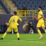 النصر يواصل عروضه الجيدة بالفوز على الوحدة في الدوري السعودي