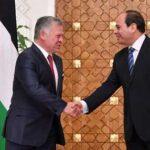 الرئيس المصري يزور الأردن ويلتقي الملك عبد الله غدًا