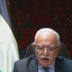 المالكي: على واشنطن العدول عن قرارات ترامب بشأن فلسطين
