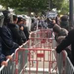 مظاهرات في تونس وسط إجراءات أمنية مشددة