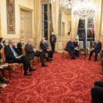 تفاصيل لقاء رئيس البرلمان الليبي ورئيس مجلس الشيوخ الفرنسي