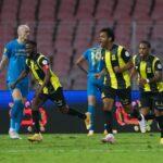اتحاد جدة يتعادل بصعوبة مع النصر في الدوري السعودي