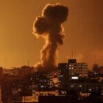 جيش الاحتلال يقصف مواقع لحركة حماس في غزة