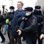 الأمن الروسي يعتقل عشرات المتظاهرين المؤيدين لنافالني