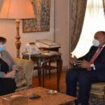 مصر تعرب عن ثقتها في استمرار الدعم الأوروبي للقضية الفلسطينية