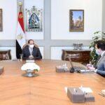 الرئيس المصري يوجه بتطبيق الإجراءات الاحترازية للحفاظ على سلامة الطلاب