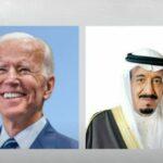 الملك سلمان وبايدن يبحثان الأمن الإقليمي واستفزازات إيران