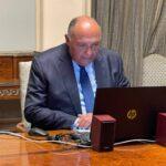 سامح شكري لـ«جوتيريش»: مصر «قلقة» إزاء تعثر مفاوضات سد النهضة