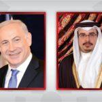 نتنياهو يبحث مع ولي عهد البحرين الملف النووي الإيراني