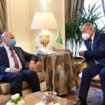 أبو الغيط يستقبل وزير الخارجية العراقي