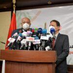 وزير الخارجية المصري يلتقي رؤساء تحرير الصحف والإعلاميين