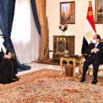 السيسي يستقبل رسالة من الملك سلمان بشأن التعاون الثنائي