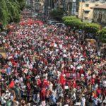إصابة 3 أشخاص في احتجاجات ميانمار