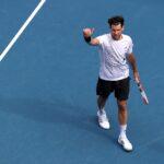 تيم يتقدم إلى الدور الثاني في أستراليا المفتوحة للتنس