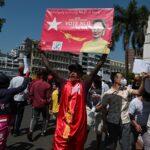 صور| تصاعد احتجاجات ميانمار.. والغرب يندد بالانقلاب
