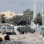معركة بالأسلحة النارية في وسط مقديشو