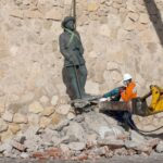 إزالة آخر تمثال للدكتاتور فرانكو في إسبانيا