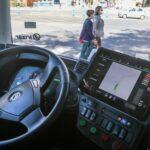 حافلة ذاتية القيادة في شوارع مدينة مالقة الإسبانية