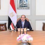 الرئيس المصري: حريصون على حل أزمة سد النهضة