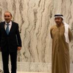 الصفدي يجري محادثات مع وزير الخارجية الإماراتي