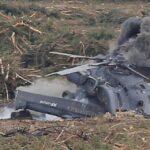 سقوط هليكوبتر روسية في سوريا