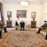 السيسي: نتطلع لاستمرار تطوير التعاون بين القاهرة وواشنطن