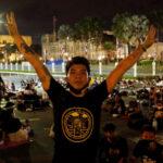 إصابة واعتقال العشرات خلال احتجاجات في تايلاند