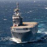مصر وفرنسا تنفذان تدريبا بحريا عابرا بقاعدة البحر الأحمر