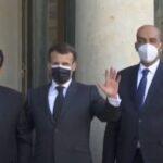 رئيس المجلس الرئاسي الليبي يصل إلى قصر الإليزيه