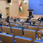 اشتية يطالب بضغط أوروبي لإلزام إسرائيل بعقد الانتخابات في القدس
