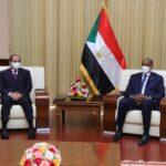 الرئيس المصري يبدأ زيارة رسمية إلى السودان