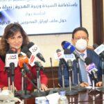 السفيرة نبيلة مكرم: نحافظ على حقوق العمالة المصرية  في أي دولة