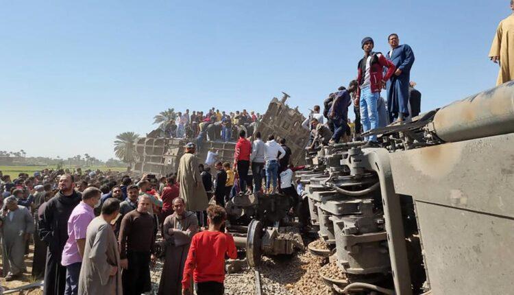 حادث قطاري الصعيد