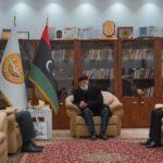 ليبيا.. عقيلة صالح يلتقي السايح ويعلن دعمه لمفوضية الانتخابات