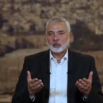 هنية يعزي الرئيس المصري بوفاة المشير طنطاوي