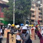 الأمم المتحدة تطالب جيش ميانمار بوقف قتل المتظاهرين